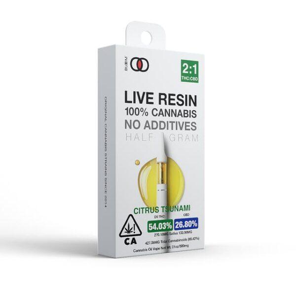 Bloom Live Resin – Citrus Tsunami