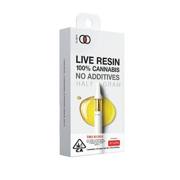 Bloom Live Resin – Tiki Kush
